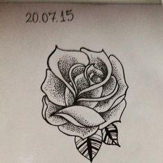 #tattoo #art #tatuagem #tattoo2me #t2m #pontilhismo #blackwork #rose #ink #inkinspiration #dotwork #arte #draw #desenho #rosa