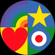 Remember the Sir Peter Blake Love Target limited edition tax disc holder? Well, that sold out not long after we wrote about it a couple of weeks back. Peter Blake, Retro Kunst, Retro Art, James Rosenquist, Pop Culture Art, Colorful Artwork, Claes Oldenburg, Gcse Art, Art For Art Sake