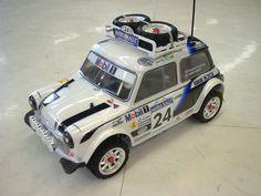 """""""Tamiya Mini Cooper Rally"""" M03 Rally chassis"""