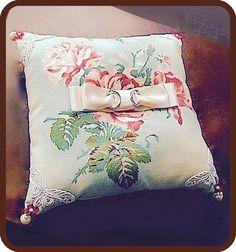 ateliersarah's ring pillow/YUWA's cotton print