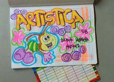 Resultado de imagen para como marcar cuadernos Graph Paper Art, Grammar Book, Decorate Notebook, Diy And Crafts, Doodles, Lettering, School, Drawings, Poster