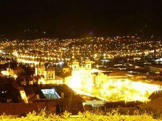 Cuzco at night...