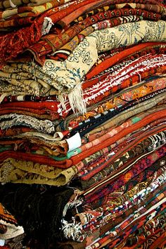 A Bloomsbury Life: Textiliphilia Antiquus Textiles are so beautiful I would just like a pile of them to look at.