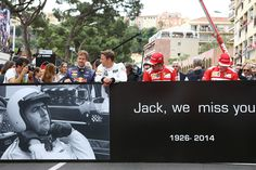 Sir Jack Brabham tribute #Monaco #F1 #luxuryf1 2017