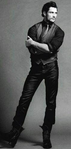 DAVID GANDY ~ Mr. Handsome Pants ~