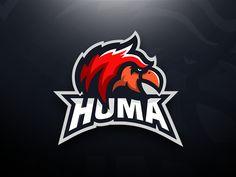 Huma - Griffin Mascot Logo Design