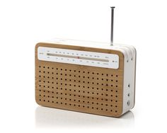 The Safe radio powered by winding the crank on the side of the radio so no electricity is wasted. It is constructed from two sustainable, eco friendly materials: Bamboo and corn based plastic. So everything about this radio is kind to the planet! Great for the kitchen, garden or anywhere around the house. It also has an input for MP3 players/mobile phones and has an output for headphones