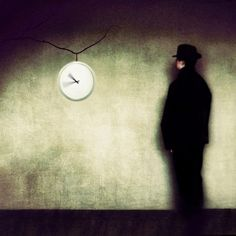 Time wastes our bodies and our wits, but we waste time, so we are quits.   Watching the time pass me by... by Milo Klaassen