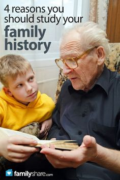 4 reasons you should study your family history