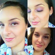 Mi maquillaje del dia!!!