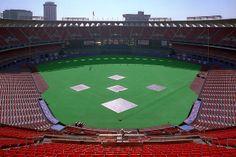 Busch Stadium 2. 1990