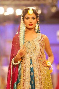 Amna Ilyas Bridal Mehndi look