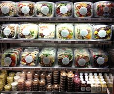 Butterfield Market, New York, NY. New York Catering. Pre-packaged fresh salads.