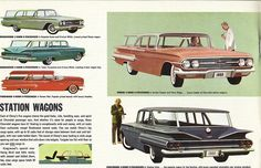 1960 Chevrolet Station Wagons