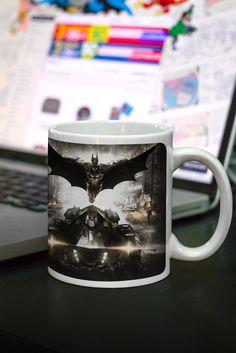 Caneca Batman Arkham Knight Action #Batman #ArkhamKnight #Action