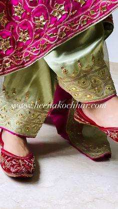 Bridal Suits Punjabi, Punjabi Suits Party Wear, Pakistani Fashion Party Wear, Pakistani Dresses Casual, Pakistani Dress Design, Punjabi Suits Designer Boutique, Indian Designer Suits, Embroidery Designs, Embroidery Suits Design