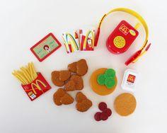 Mcdonalds Play Food Drive Thru Playset Food Toy Talking Walkie Talkie #Unknown