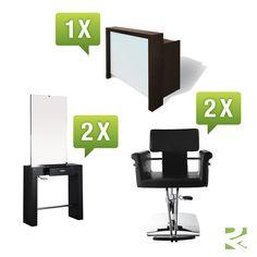 Hairway Friseureinrichtung Set 1 - günstig bei Friseurzubehör24.de // Sie interessieren sich für dieses Produkt