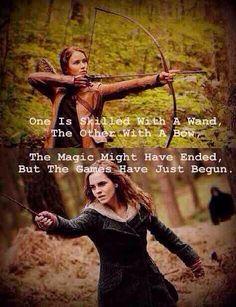 Hunger Games. Harry potter
