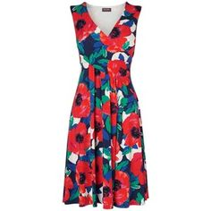 Phase Eight Riviera Print Dress, Multi