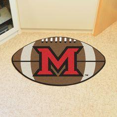 Miami University - OH Football Rug 20.5x32.5