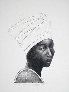 MANUFACTORIEL — African American (2008) by Elizabeth Catlett
