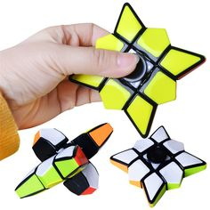 Finger Floppy Puzzle Cube Qiyi Spinner Cube Toys For Children Cubo Magico For Beginner Cool Fidget Spinners, Fidget Spinner Toy, Magic Squares, Cube Toy, Cube Puzzle, Hand Spinner, Fidget Toys, Toy Sale, Gifts For Boys
