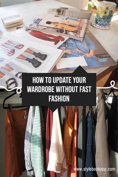 It can be hard to resist springing for cute fast-fashion clothes, especially if you're on a budget, but continually buying cheap one-off clothes isn't the answer! Here are a few tips that'll help you balance updating your wardrobe while staying true to your style and saving money... Perfect Wardrobe, Built In Wardrobe, Capsule Wardrobe, Fast Fashion, Slow Fashion, Closet App, Fashion Clothes, Fashion Outfits