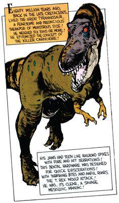 Hobbes Deep - Tyrannosaur