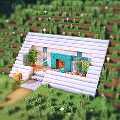 Minecraft Mansion, Minecraft Cottage, Cute Minecraft Houses, Minecraft Room, Minecraft Plans, Minecraft House Designs, Amazing Minecraft, Minecraft Tutorial, Minecraft Blueprints