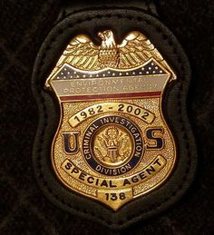 Special Agent, Criminal Investigation Division, United States Environmental Protection Agency, Office of Criminal Enforcement 20th Anniversary