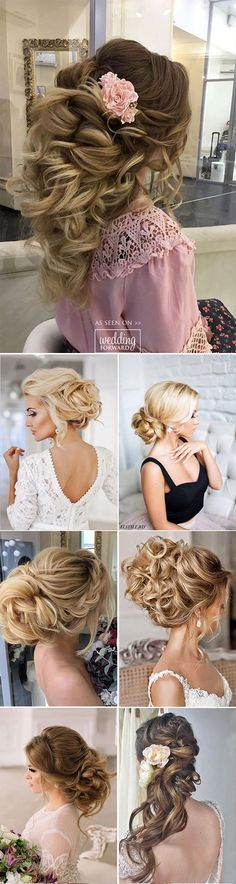Killer Swept-Back hairstyles ❤ If you are not sure which hairstyle to choose, see our collection of swept-back wedding hairstyles and you will find gorgeous and fancy looks!. See more:   http://www.weddingforward.com/swept-back-wedding-hairstyles #wedding  #hairstyles