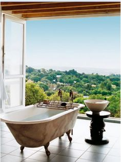bathe with a view