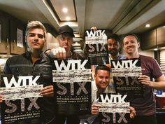 Want a signed limited edition #WTK poster? Stop by our merch tent at #WarpedTour and purchase the #SIX download card to get one! 👊🏻 Pre-order your copy now!     smarturl.it/WTKSIXPreorder Charles Trippy, Tour Manager, We The Kings, Warped Tour, Get One, Tent, Album, Cards, Poster