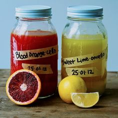 Homemade Liqueurs: Sweet Lime and Blood Orange For Your Cocktail Hour Recipes