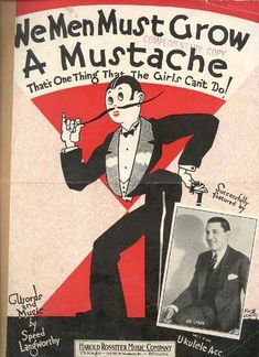 Sheet music poking fun at the masculine traits many women adopted during the 1920s. - Collective History