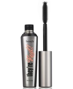 Make-up - Ogen - Mascara - Benefit - Ogen - They're Real Beste Mascara, Mascara Review, Volume Mascara, Eyeliner, Benefit Mascara, Benefit Makeup, Brows, Skin Products, Makeup Trends