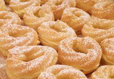 Kouzelné chvilky...: Věnečky z odpalovaného těsta Onion Rings, Bagel, Doughnut, Food And Drink, Peach, Ethnic Recipes, Desserts, Blog, Decor
