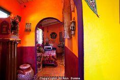 San Miguel de Allende, Guanajuato, Mexico: The guest bedroom. Photo Ann Summa
