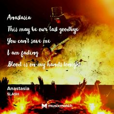 Slash Anastasia Lyrics