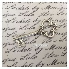 Like keys? I have had a fascination with keys for many years. After living in old houses in New Orleans I grew even more fond of these vintage style old keys and they go great with almost anything for