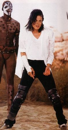 """#MichaelJackson It always impressed me that of all the people and cultures that Michael included in his """"Black or White"""" short film the very first heritage that he showed was his own, as an African-American"""