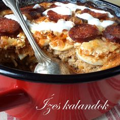 Hungarian Cuisine, Hungarian Recipes, Hungarian Food, Meat Recipes, Macaroni And Cheese, Lunch, Meals, Dishes, Cooking
