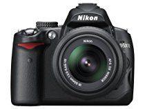 Nikon D5000 DSLR Camera with 18-55mm f/3.5-5.6G VR and 55-200mm f/4-5.6G VR Lenses (OLD MODEL)