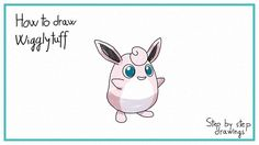 how to draw Wigglytuff #howtodraw #stepbystep #drawings #pokemon