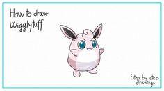 how to draw Wigglytuff #howtodraw #stepbystep #drawings #pokemon