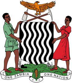 Brasão de armas da Zâmbia