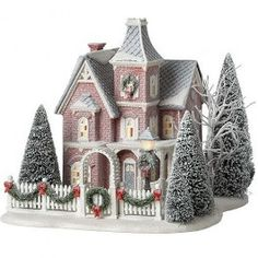 Department 56 - Winter Frost - Nicollet House | Department 56 Villages, Free Shipping on Dept 56