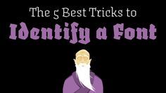 The 5 best Tricks to Identify a Font