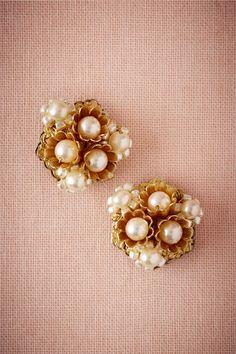 BHLDN Lustrous Buds Earrings in  Sale | BHLDN